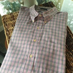 Burberry Nova Check Men's Shirt Size 2XT